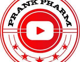 Nro 85 kilpailuun Make a youtube channel logo:   Prank Pharm  (a prank channel) käyttäjältä designservice08