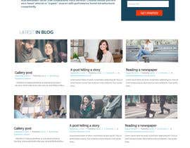 #37 cho Create and implement a Wordpress Template for a Blog/Podcast website bởi jituchoudhary