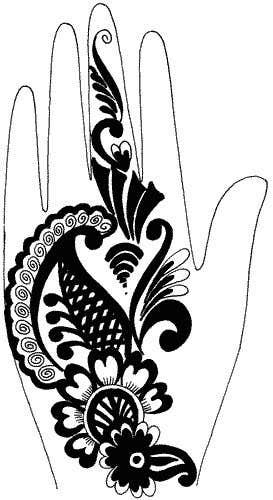 Konkurrenceindlæg #4 for I need some Graphic Design for Mehendi artwork illustration