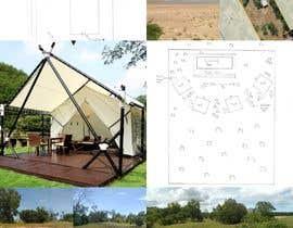 PerfectDesign77 tarafından Small boutique campsite design - 3d exterior design including landscape for a fancy camp ground (glamping) için no 7