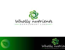 #112 for Design a Logo for a Wholly Nutrients supplement line by srdas1989