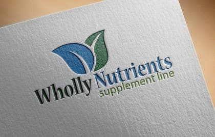 #284 for Design a Logo for a Wholly Nutrients supplement line by sgsicomunicacoes