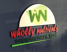 #252 for Design a Logo for a Wholly Nutrients supplement line by SahilSagar88