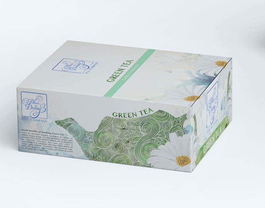 Contest Entry #                                        39                                      for                                         Create Print and Packaging Designs for Blue Daisy Tea Company