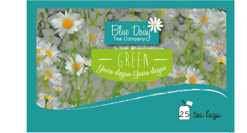Contest Entry #                                        29                                      for                                         Create Print and Packaging Designs for Blue Daisy Tea Company