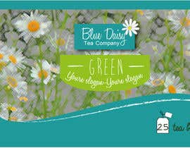 hristina1605님에 의한 Create Print and Packaging Designs for Blue Daisy Tea Company을(를) 위한 #29