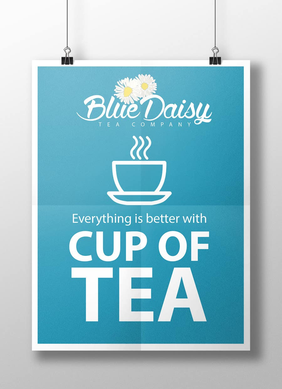 Contest Entry #                                        19                                      for                                         Create Print and Packaging Designs for Blue Daisy Tea Company