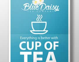 #19 para Create Print and Packaging Designs for Blue Daisy Tea Company por skanone