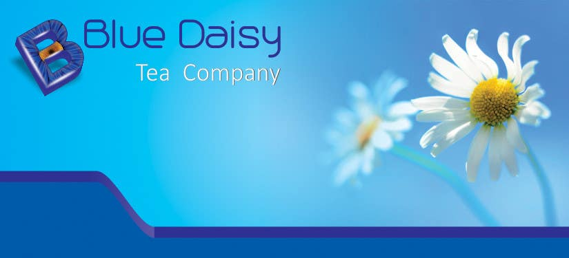 Contest Entry #                                        3                                      for                                         Create Print and Packaging Designs for Blue Daisy Tea Company