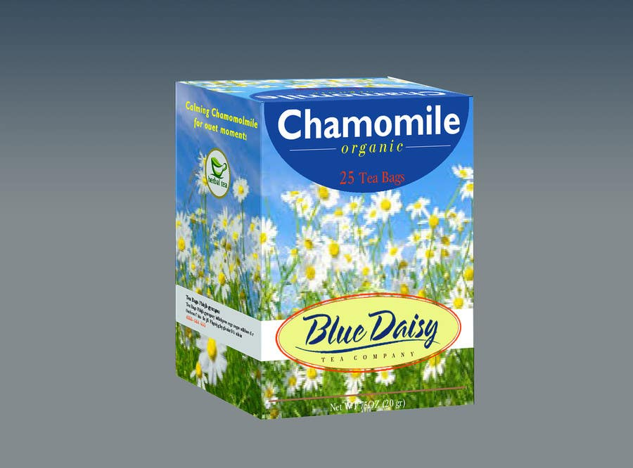 Contest Entry #                                        33                                      for                                         Create Print and Packaging Designs for Blue Daisy Tea Company