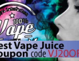 #6 for Design 350 x 100 Banner for Vape E-Cig Juice website by alonsohl25