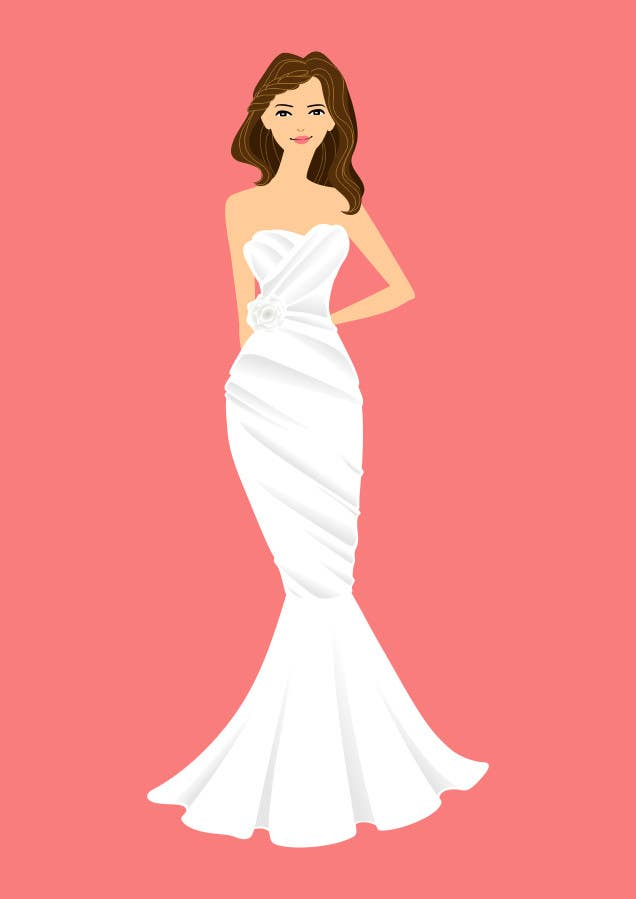 Contest Entry #                                        12                                      for                                         Design Several Bride Images Hi Def and Editable in Corel Draw