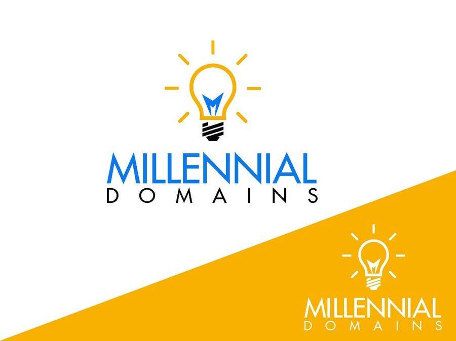 Bài tham dự cuộc thi #85 cho Design a Logo for MillennialDomains.com