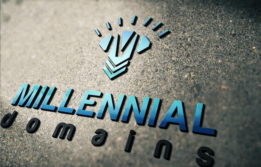Bài tham dự cuộc thi #60 cho Design a Logo for MillennialDomains.com