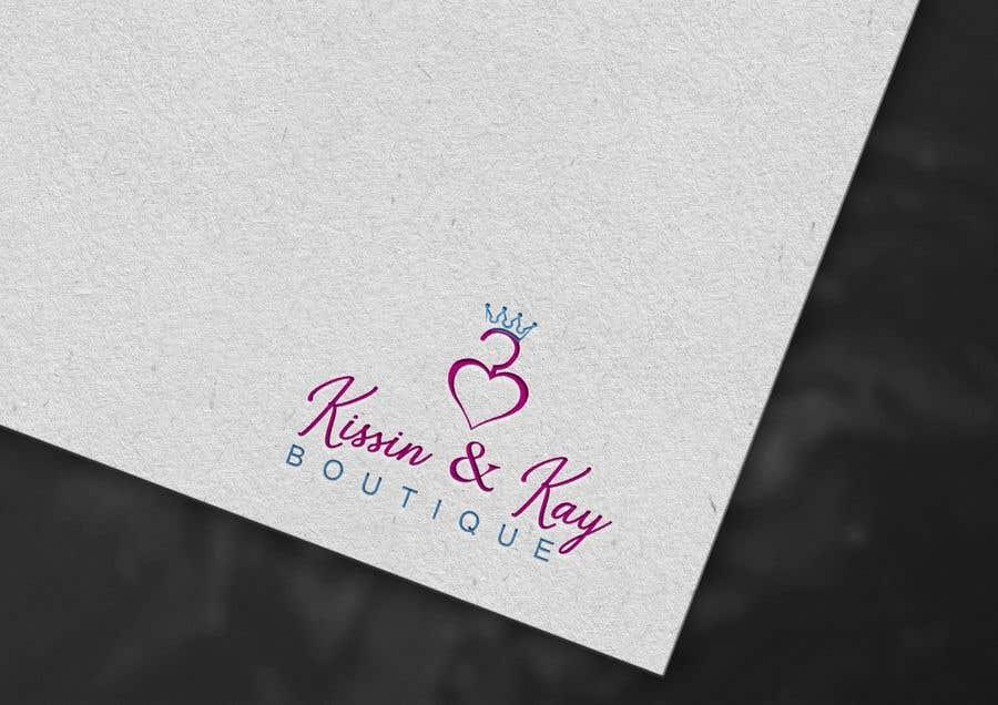 Konkurrenceindlæg #                                        92                                      for                                         Company logo for Kissin & Kay Boutique