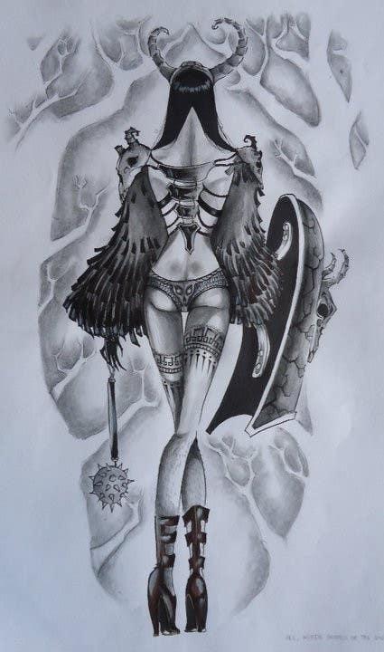 Contest Entry #                                        2                                      for                                         Mystique Brand Illustration