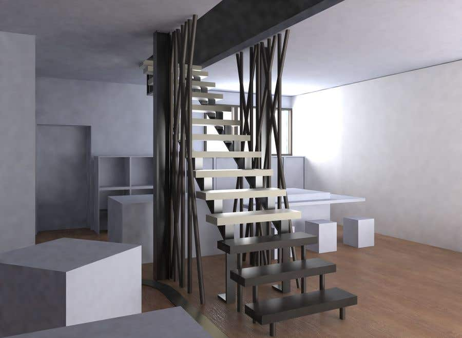 Proposition n°                                        90                                      du concours                                         Designing Staircase