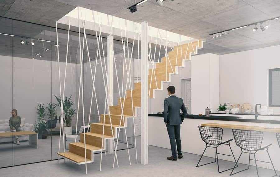 Proposition n°                                        52                                      du concours                                         Designing Staircase