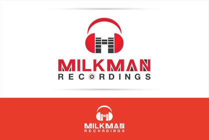 #30 untuk Create a logo and business card design for Milkman Recordings. oleh sdartdesign