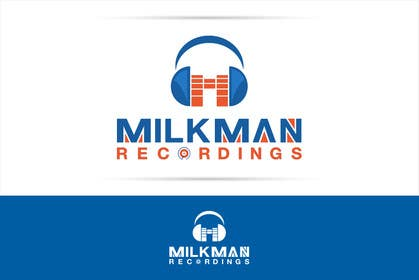 #32 untuk Create a logo and business card design for Milkman Recordings. oleh sdartdesign