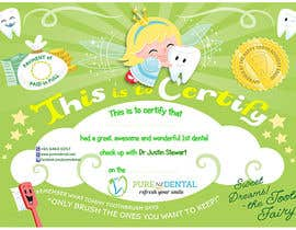 #20 for Illustrate Something for Kids Dental Certificate by madiworks