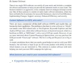 #34 for assesment task: why is it essential custom software for seo companies by samarsoliman2010