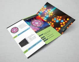 #8 for Trifold Product Brochure for LED Company by todtodoroff