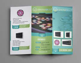 #11 for Trifold Product Brochure for LED Company af Olekiy