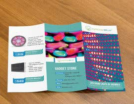 #5 for Trifold Product Brochure for LED Company by gldhN
