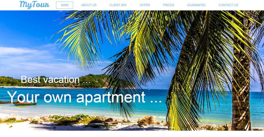 Contest Entry #                                        11                                      for                                         Simple web page for our villa