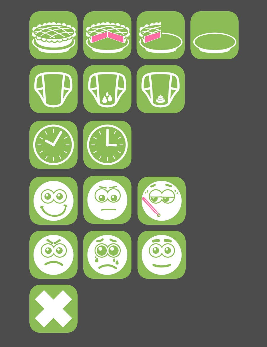 Contest Entry #                                        10                                      for                                         Design some Icons for mobile application