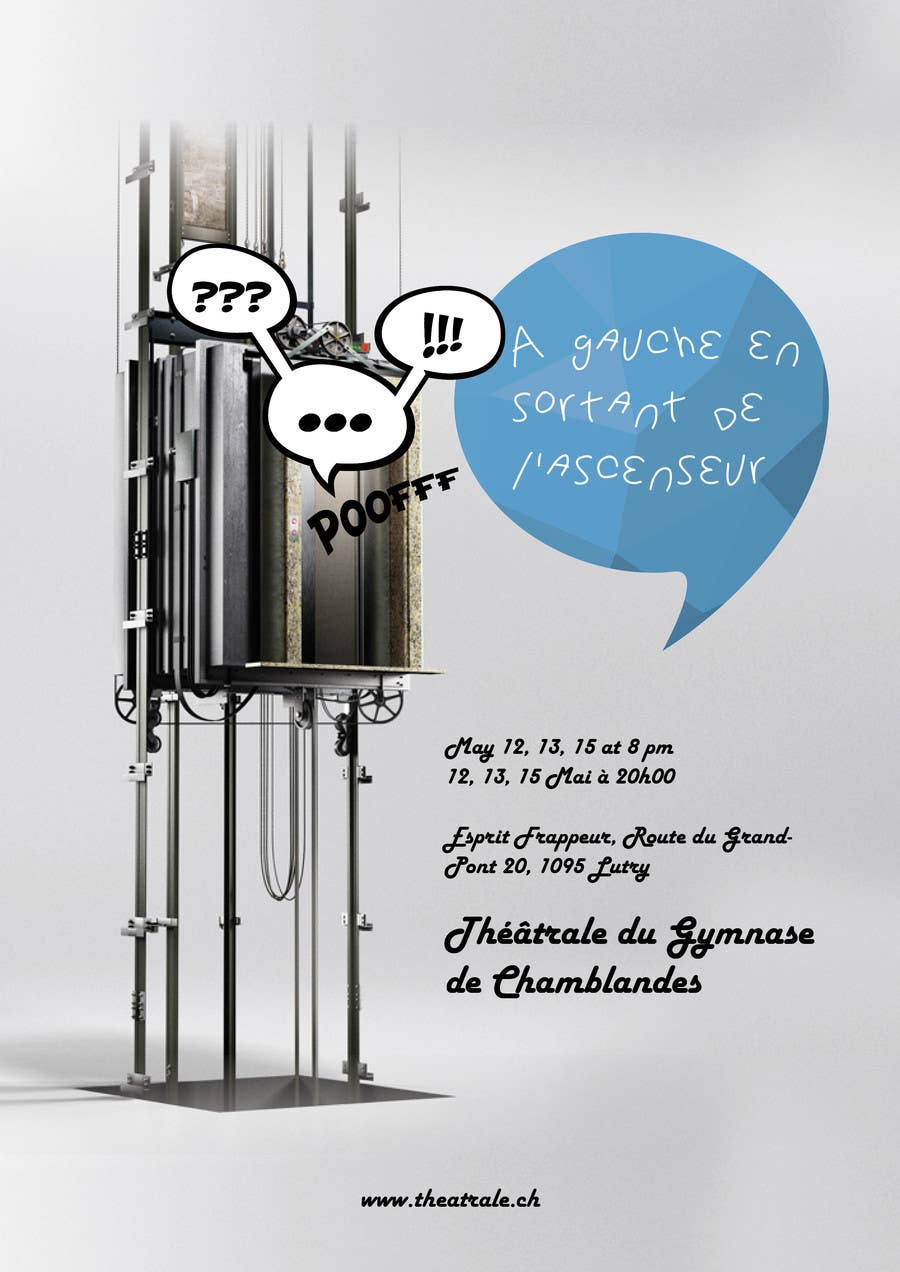 Proposition n°                                        10                                      du concours                                         Design a Flyer for Theatrical Comedy