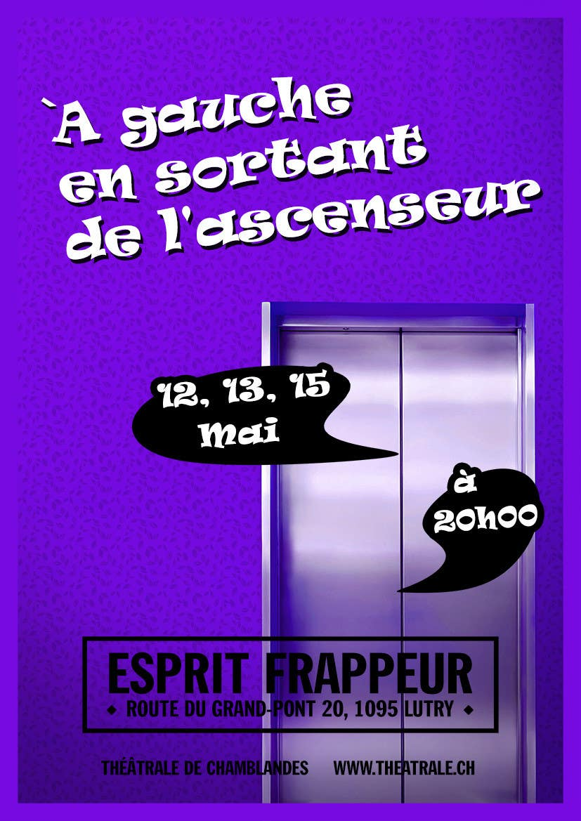 Proposition n°                                        30                                      du concours                                         Design a Flyer for Theatrical Comedy