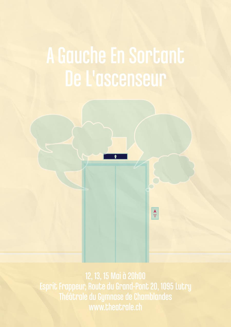 Proposition n°                                        6                                      du concours                                         Design a Flyer for Theatrical Comedy