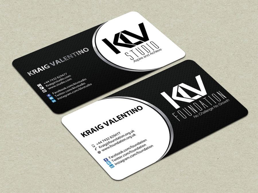 Konkurrenceindlæg #                                        193                                      for                                         Design some Business Cards for KLV Studio