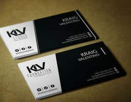#189 for Design some Business Cards for KLV Studio by sixthsensebd