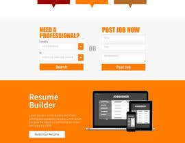 sabdulghani tarafından Design a Website Mockup for a Job Search Engine için no 55