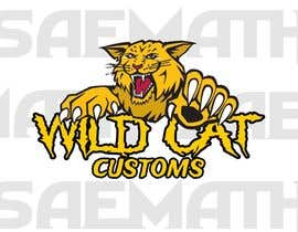 #82 untuk Design a Logo for Wild Cat Customs oleh saemath