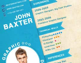 #17 para Premium Quality Resume Design (PSD) - I'LL SELECT MULTIPLE WINNERS! por dnljhn