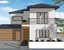 Nro 13 kilpailuun Modern House Exterior Design or  Facade/Frontage Design based on Vernacular Architecture käyttäjältä nityahdesigns