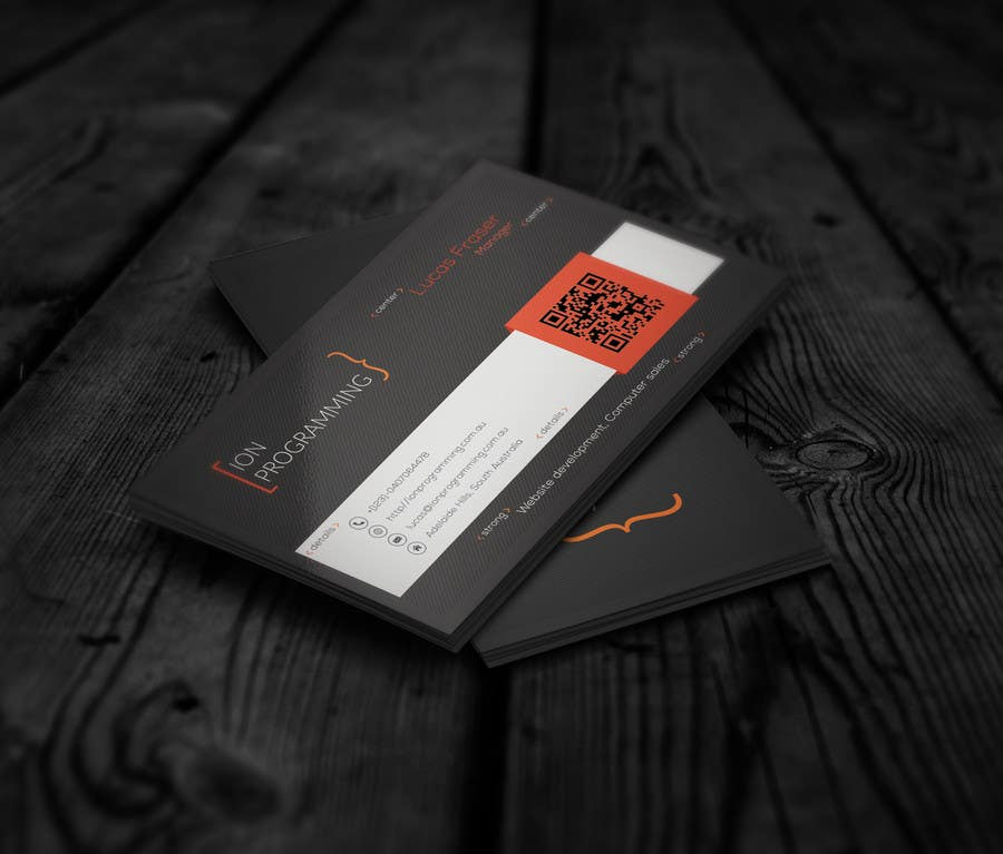 Contest Entry #                                        17                                      for                                         Design some Business Cards for Ion Programming