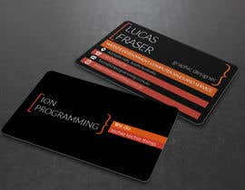 #14 untuk Design some Business Cards for Ion Programming oleh s04530612