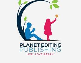 #99 for Planet Editing Publishing by Designnwala