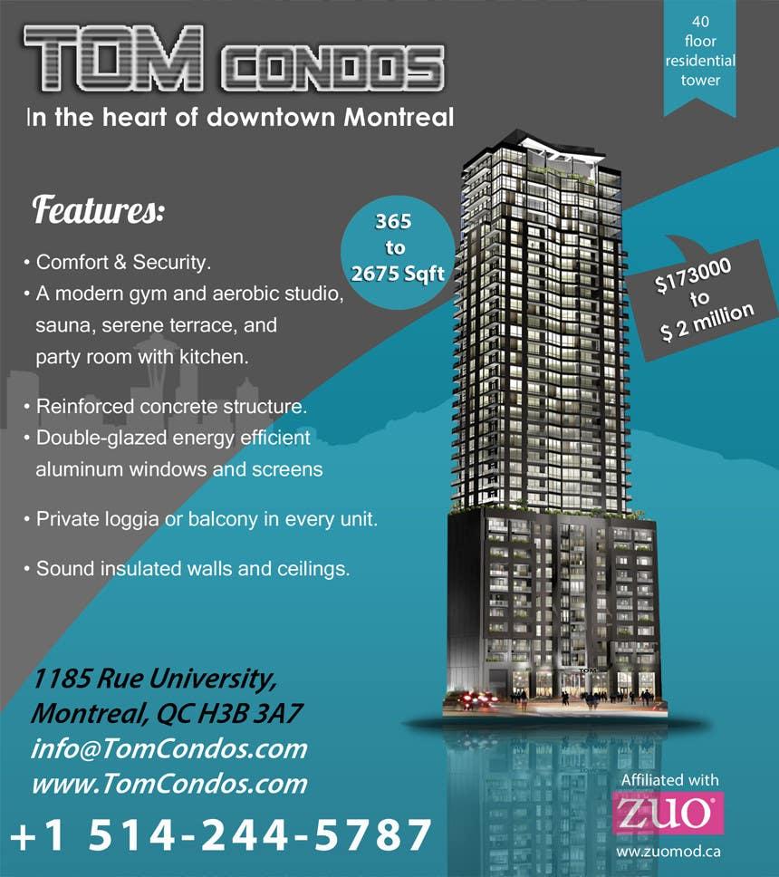 Contest Entry #                                        13                                      for                                         Design a Flyer for TOM CONDOS