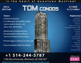 #14 for Design a Flyer for TOM CONDOS by pcmedialab