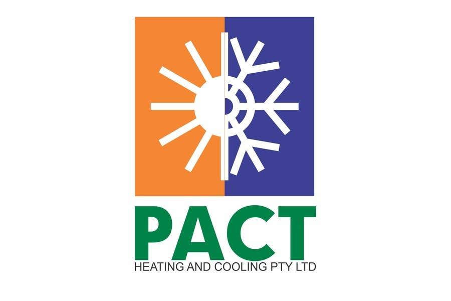 Penyertaan Peraduan #38 untuk Logo Design for Pact Heating
