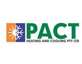 #39 para Logo Design for Pact Heating por itcostin