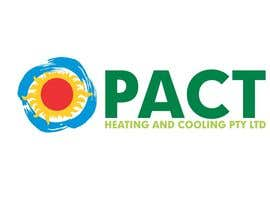 #66 para Logo Design for Pact Heating por itcostin