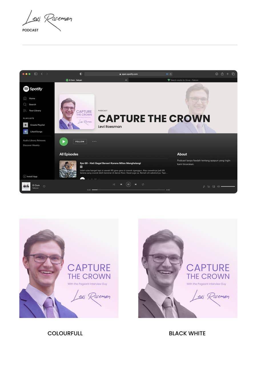 Konkurrenceindlæg #                                        6                                      for                                         Design a new Podcast Cover Photo