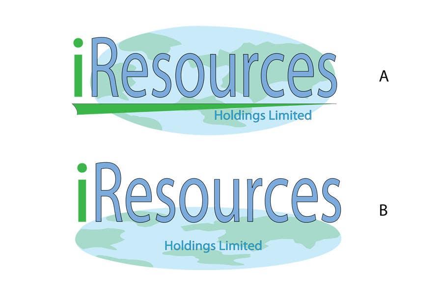 Inscrição nº 8 do Concurso para Logo Design for iResources Holdings Limited